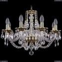 1606/8/195/GB Хрустальная подвесная люстра Bohemia Ivele Crystal