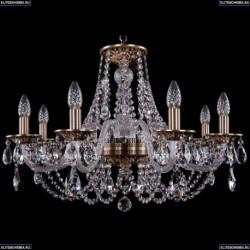 1606/8/240/FP Хрустальная подвесная люстра Bohemia Ivele Crystal (Богемия)