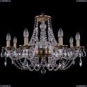 1606/8/240/FP Хрустальная подвесная люстра Bohemia Ivele Crystal