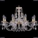1606/8/240/GW Хрустальная подвесная люстра Bohemia Ivele Crystal