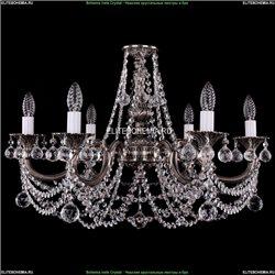 1702/6/250/C/NB/Balls Хрустальная подвесная люстра Bohemia Ivele Crystal
