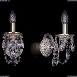 1610/1/GW Хрустальное бра Bohemia Ivele Crystal