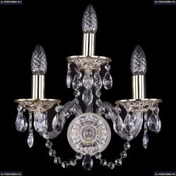 1610/3/GW Хрустальное бра Bohemia Ivele Crystal