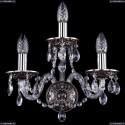 1610/3/NB Хрустальное бра Bohemia Ivele Crystal