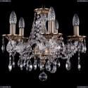 1613/5/141/FP Хрустальная подвесная люстра Bohemia Ivele Crystal