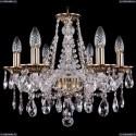 1613/6/165/FP Хрустальная подвесная люстра Bohemia Ivele Crystal