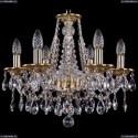1613/6/165/G Хрустальная подвесная люстра Bohemia Ivele Crystal