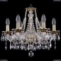 1613/6/165/GB Хрустальная подвесная люстра Bohemia Ivele Crystal