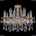 1613/8/165/G Хрустальная подвесная люстра Bohemia Ivele Crystal