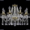 1613/8/200/GB Хрустальная подвесная люстра Bohemia Ivele Crystal