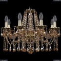 1613/8/200/GB/M721 Хрустальная подвесная люстра Bohemia Ivele Crystal
