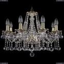 1613/8/200/GW/Balls Хрустальная подвесная люстра Bohemia Ivele Crystal