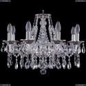 1613/8/200/NB Хрустальная подвесная люстра Bohemia Ivele Crystal