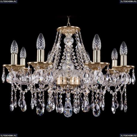 1613/8/220/G Хрустальная подвесная люстра Bohemia Ivele Crystal