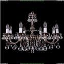 1702/8/250/A/NB/Balls Хрустальная подвесная люстра Bohemia Ivele Crystal