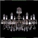1702/8/250/A/NB/Leafs Хрустальная подвесная люстра Bohemia Ivele Crystal