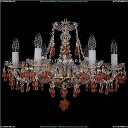1410/6/195/G/V7010 Хрустальная подвесная люстра Bohemia Ivele Crystal