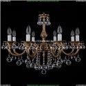1702/8/B/FP/Balls Хрустальная подвесная люстра Bohemia Ivele Crystal (Богемия)