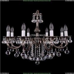 1702/8/250/B/NB/Balls Хрустальная подвесная люстра Bohemia Ivele Crystal