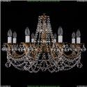 1702/8/265/C/FP/Balls Хрустальная подвесная люстра Bohemia Ivele Crystal