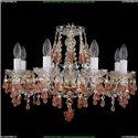 1410/8/195/G/V7010 Хрустальная подвесная люстра Bohemia Ivele Crystal