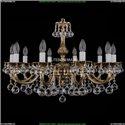 1702/10/250/A/GB/Balls Хрустальная подвесная люстра Bohemia Ivele Crystal
