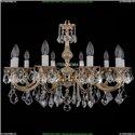 1702/10/250/A/GW/Leafs Хрустальная подвесная люстра Bohemia Ivele Crystal