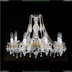 1410/8/240/G/V0300 Хрустальная подвесная люстра Bohemia Ivele Crystal