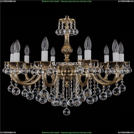 1702/10/B/GB/Balls Подвесная люстра Bohemia Ivele Crystal (Богемия)