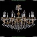 1702/10/B/GB/Balls Хрустальная подвесная люстра Bohemia Ivele Crystal (Богемия)