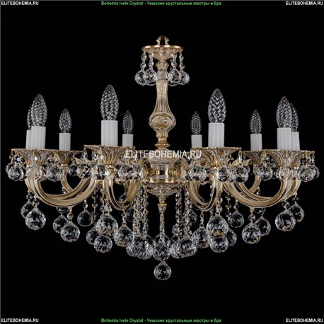 1702/10/B/GW/Balls Подвесная люстра Bohemia Ivele Crystal (Богемия)