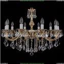 1702/10/B/GW/Leafs Хрустальная подвесная люстра Bohemia Ivele Crystal (Богемия)