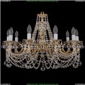 1702/10/C/GW/Balls Хрустальная подвесная люстра Bohemia Ivele Crystal (Богемия)