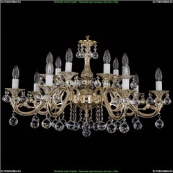 1703/14/320/A/GW/Balls Хрустальная подвесная люстра Bohemia Ivele Crystal