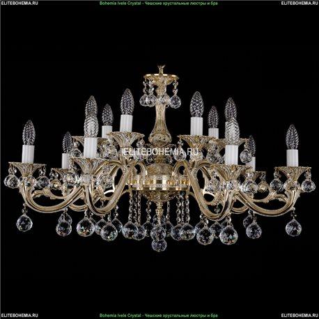 1703/14/A/GW/Balls Подвесная люстра Bohemia Ivele Crystal (Богемия)