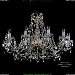 1411/10/360-66 Хрустальная подвесная люстра Bohemia Ivele Crystal (Богемия)
