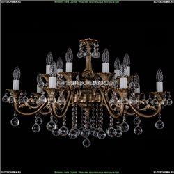 1703/14/320/B/FP/Balls Хрустальная подвесная люстра Bohemia Ivele Crystal