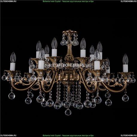 1703/14/B/FP/Balls Подвесная люстра Bohemia Ivele Crystal (Богемия)