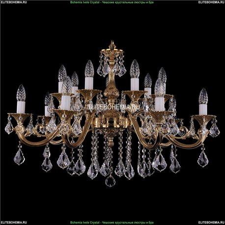 1703/14/B/G/Leafs Подвесная люстра Bohemia Ivele Crystal (Богемия)