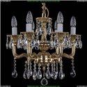 1704/6/UP125IV/A/GB Хрустальная подвесная люстра Bohemia Ivele Crystal