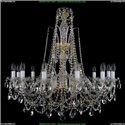 1411/12/300/87 Хрустальная подвесная люстра Bohemia Ivele Crystal (Богемия)