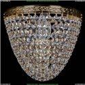 1925/1/W/G Хрустальное бра Bohemia Ivele Crystal (Богемия)