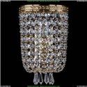 1927/1/S/G Хрустальное бра Bohemia Ivele Crystal (Богемия)