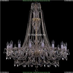 1411/16/400-115/G Хрустальная подвесная люстра Bohemia Ivele Crystal (Богемия)