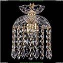 7710/15/G/Drops Хрустальный подвес Bohemia Ivele Crystal