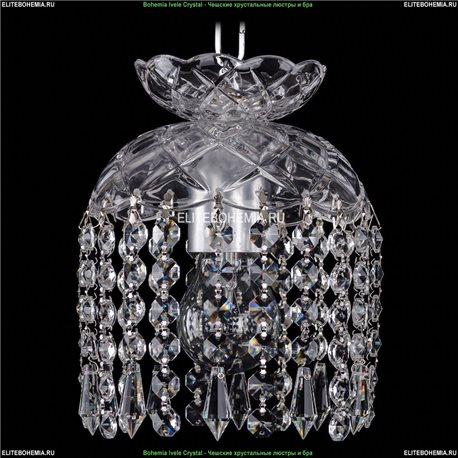 7710/15/Ni/Drops Хрустальная подвесная люстра Bohemia Ivele Crystal (Богемия)