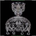 7711/22/Ni/Balls Хрустальная подвесная люстра Bohemia Ivele Crystal