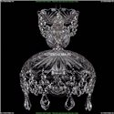 7711/22/Ni/Leafs Хрустальная подвесная люстра Bohemia Ivele Crystal