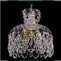 7711/25/G/Drops Хрустальная подвесная люстра Bohemia Ivele Crystal