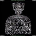 7711/25/Ni Хрустальная подвесная люстра Bohemia Ivele Crystal